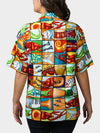 Jumble YaYa BayouWear Hawaiian Shirt Womens Back