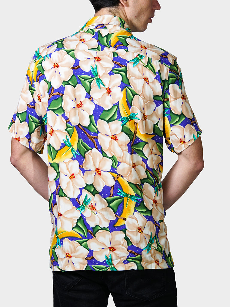 Magnolia BayouWear Hawaiian Shirt Mens Back