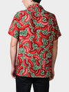Red Beans BayouWear Hawaiian Shirt Mens Back
