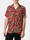 Red Beans BayouWear Hawaiian Shirt Mens Front