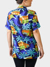 Stellar! A Streetcar's Famed Attire BayouWear Hawaiian Shirt Womens Back