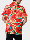 What-a-Melon BayouWear Hawaiian Shirt Mens Back