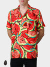 HowAhYa® Hawaiian Shirt - What-a-Melon Print