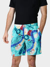 Tricentennial Map Print Bayou Boxers Front
