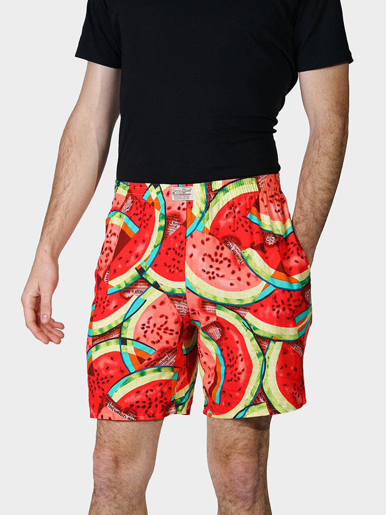 What-a-Melon Bayou Boxers Front