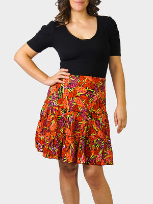 Crawfish BayouWear Swing Skirt Front