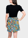 Logo-a-Gogo BayouWear Short Wrap Skirt Back