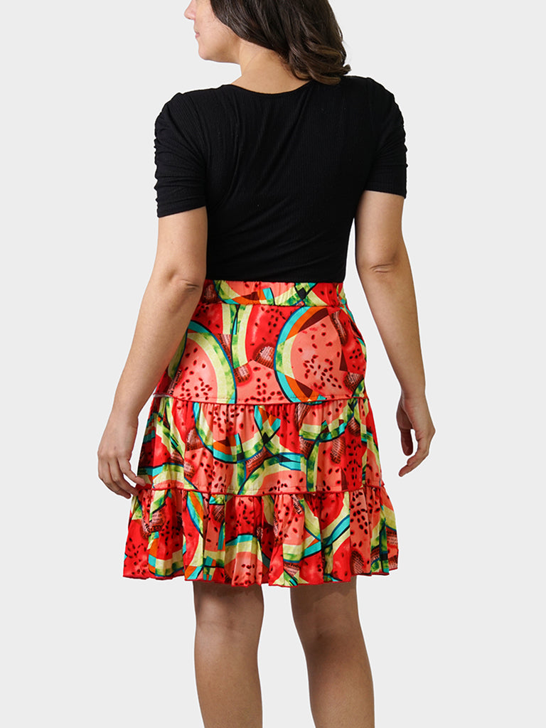 What-a-Melon BayouWear Swing Skirt Back