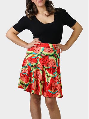 What-a-Melon BayouWear Swing Skirt Front