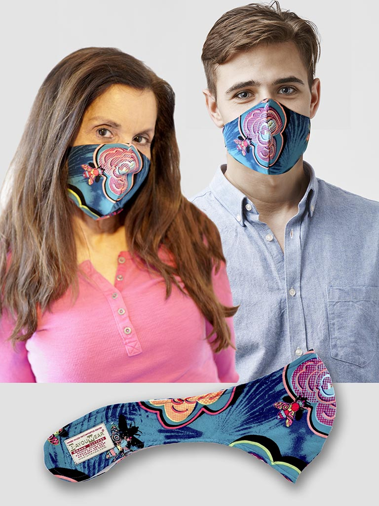 The BayouWear® Type 3 (T3) Mask