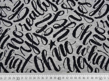 Laden Sie das Bild in den Galerie-Viewer, Oh yes! Bio Jacquard Jersey grau