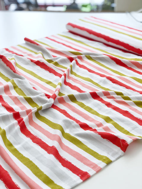 Stripes red, Jersey
