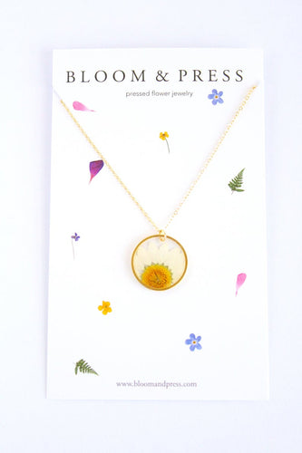 Bloom & Press- Daisy Necklace