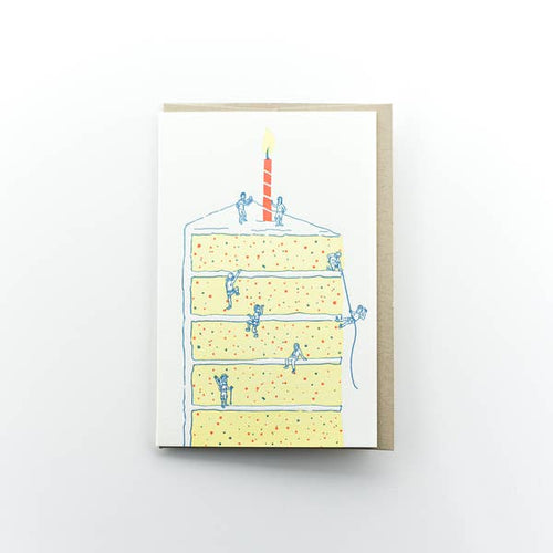 Cake Climbers Birthday Card