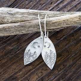 Sprig & Sparrow- Trees at Night Earrings