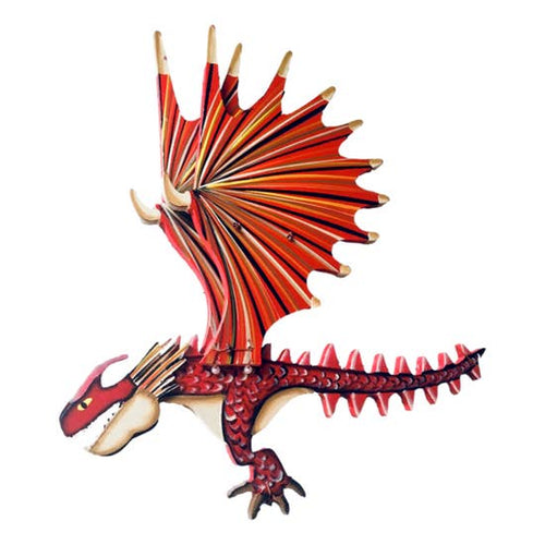 Tulia's Artisan Gallery- Dragon Spike Flying Mobile