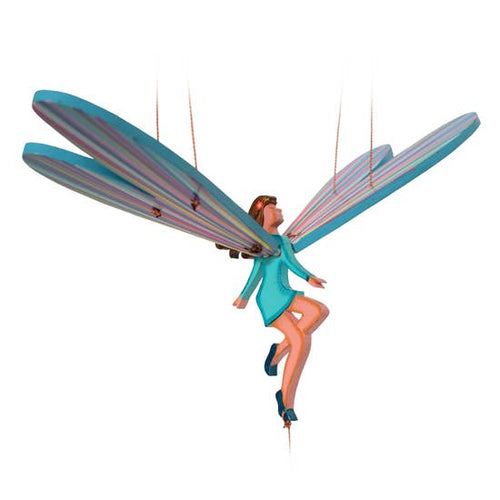 Tulia's Artisan Gallery- Flying Fairy Mobile