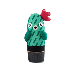 Louise the cacti plush toy, soft plant