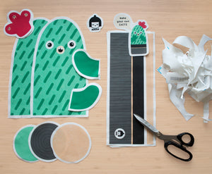 Water-free Cacti Plush Toy DIY Kit