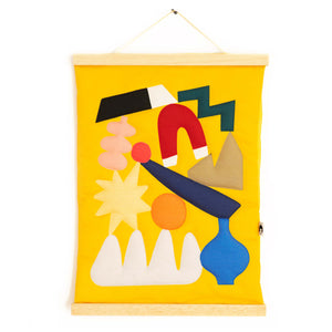Yellow Wall hanging
