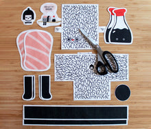 Load image into Gallery viewer, Mr. Nigiri and Soy DIY Kit