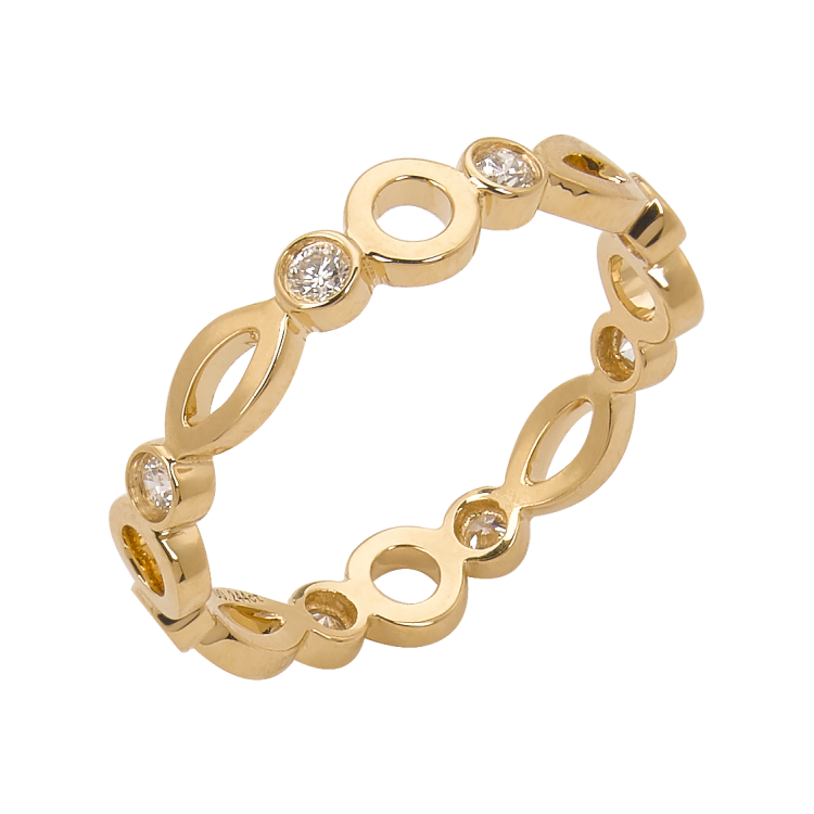 Eternity Ring Yellow Gold