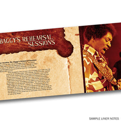 THE BAGGY'S REHEARSAL SESSIONS - CD