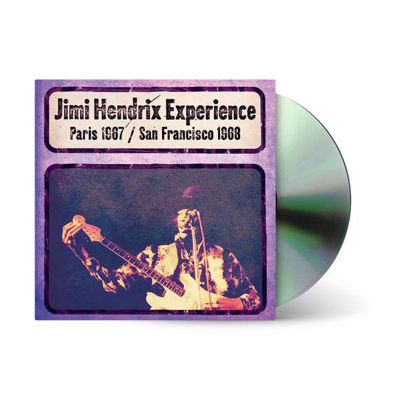LIVE IN PARIS 1967/SAN FRANCISCO 1968 - CD