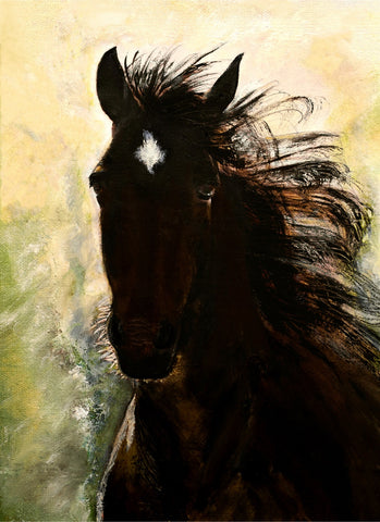 """Unbridled Joy"" (Canvas Print)"