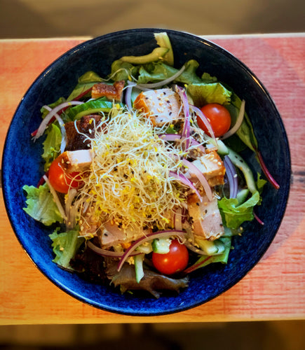 Pork Belly & Sesame Salad