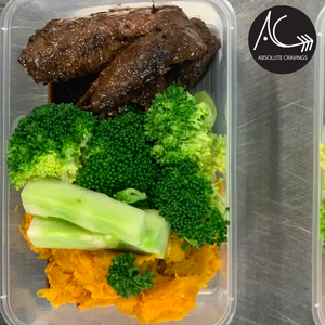 absolutecravings,Steak bites, pumpkin mash & broccoli,Fitness