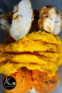absolutecravings,Chicken, sweet potato & pumpkin mash,Fitness