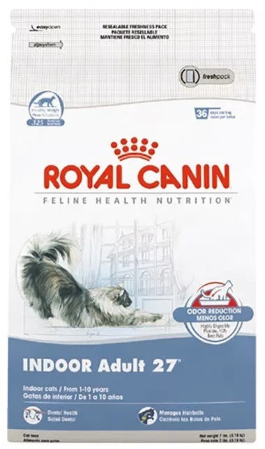 alimento Pienso Indoor Adult Cat 3.18 Kg Royal Canin