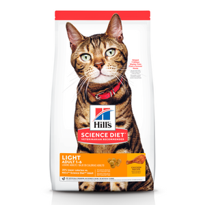 Hills Science Diet Alimento Gatos Adulto Original Light Croqueta Pienso