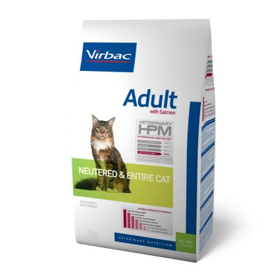 Virbac Alimento Gatos Adulto Esterilizado Adult Neutered Cat Salmon