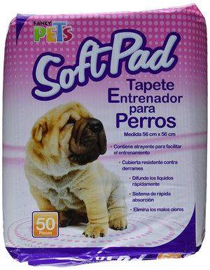 Fancy Pets Tapete Entrenador (Pads) Fancy Pet 50 Pz