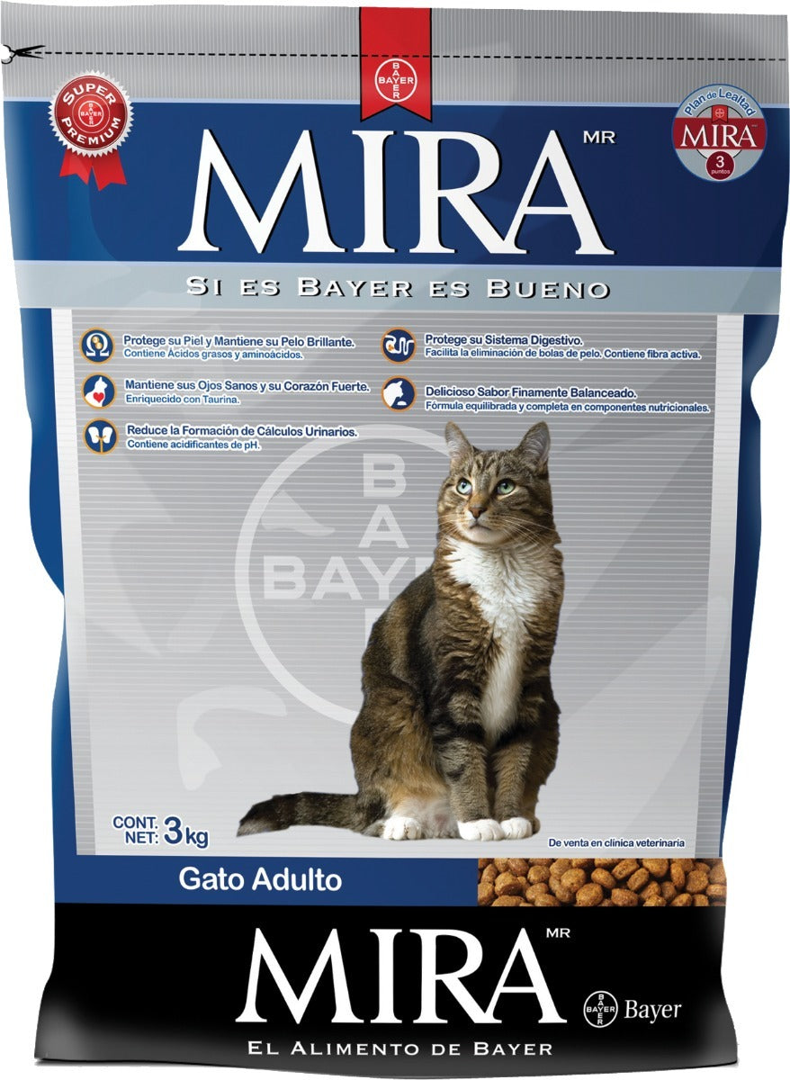 Bayer Mira Alimento Gatos Adultos