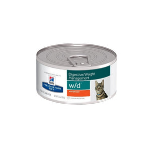 Hills Science Alimento Gatos w/d Lata 150 gr Alimento Humedo wd