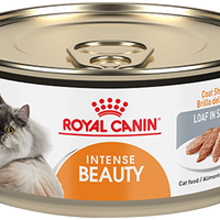 Royal Canin Alimento Gatos Adulto Intense Beauty Cuidado Pelo Lata Humedo .165kg iPos