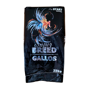 Alimento Para Gallos  Super Breed Pro Start  25kg Purina