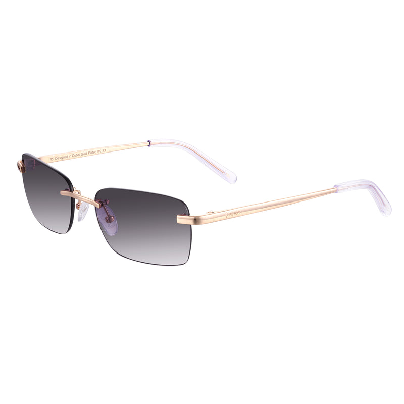Astos Men's Eyewear - Black gradient | 9K Gold plated