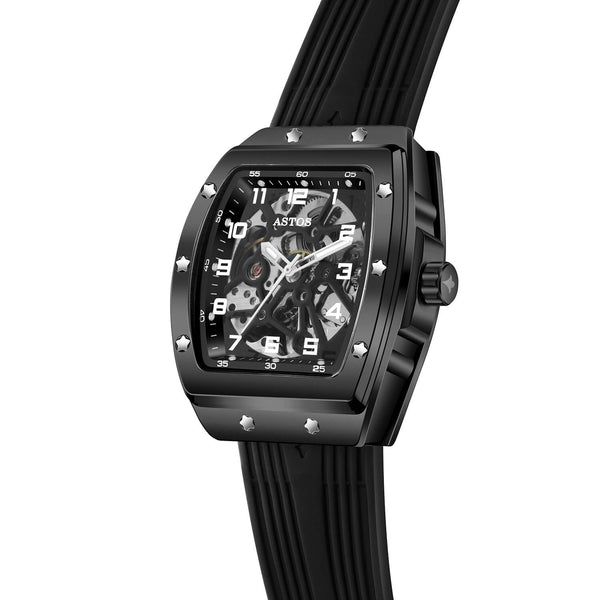Millionaire Black Case and Dial - Black Strap (pre-order)