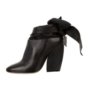 Christian Dior Wrap Leather Boots