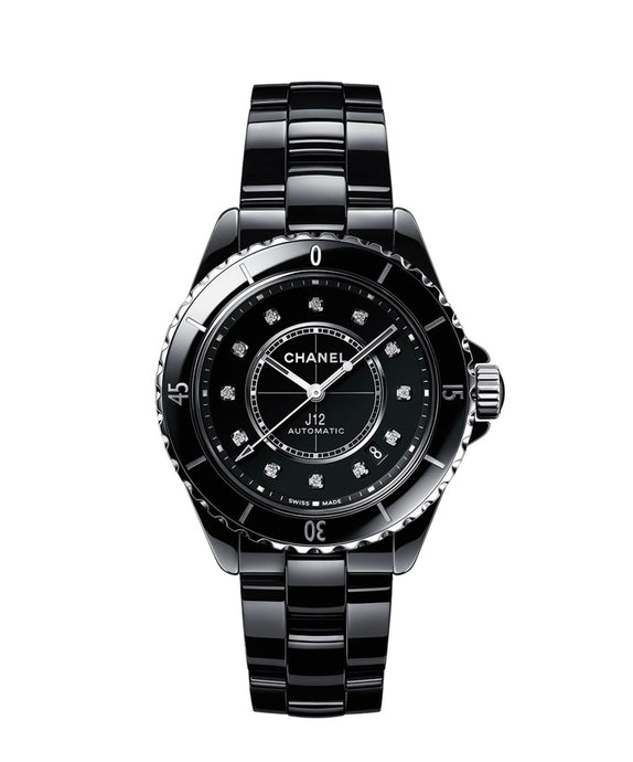 Chanel J-12 Ceramic with Diamonds Watch