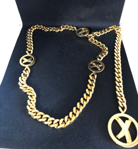 Paloma Picasso Gold Chain Belt