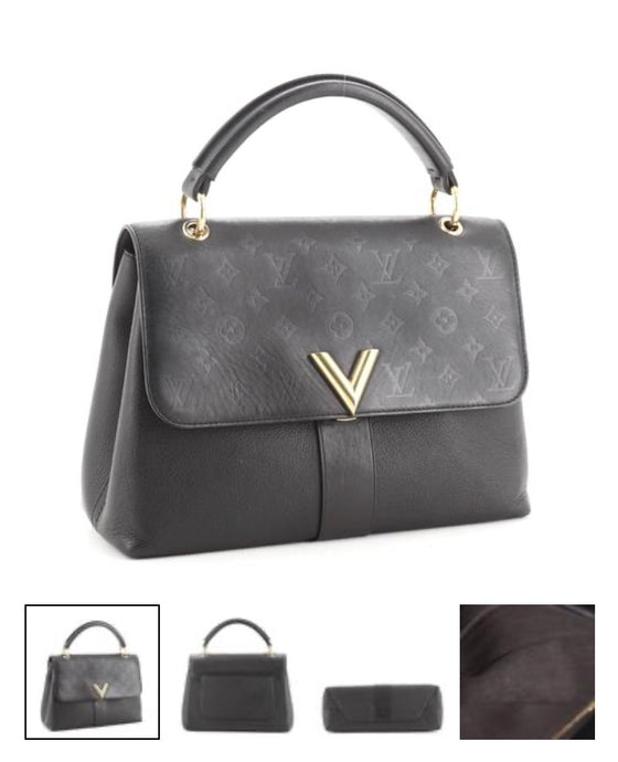 Louis Vuitton Very One Handle Bag Monogram Leather
