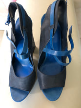 "Load image into Gallery viewer, Cole Haan ""Maria Sharapova"" Blue Sandals"