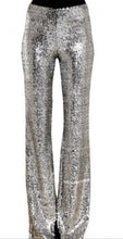 Load image into Gallery viewer, Sequin Silver Pants