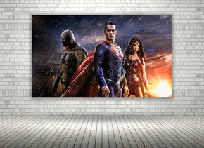 DC Superheroes Justice League Canvas Print Giclee CA09