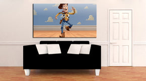 Toy Story Woody Buzz Canvas Print Giclee CA1005